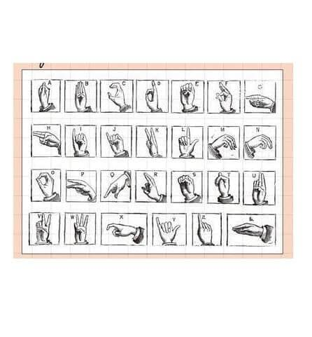 Clear Stamp Moodtape Hand Gesture