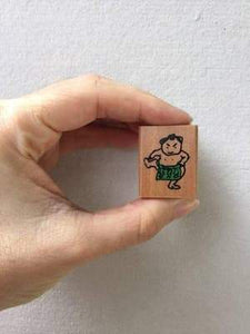 Sumo 2 stamp - Kodomo No Kao - Tiny Stamp Series