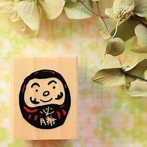 Daruma Stamp - Kodomo No Kao -Tiny Stamp Series