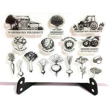 Clear Stamp Moodtape Farmers