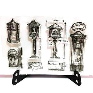 Clear Stamp Moodtape Postbox