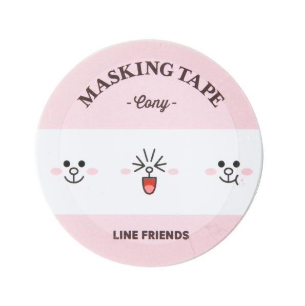 Line Friends Cony Masking Tape