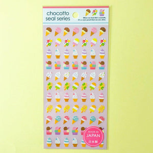 Sticker Chocotto Seal Series Ice Cream