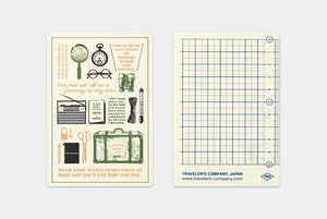 Traveler's Notebook Plastic Sheet 2020 Passport Size