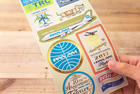 2017 Pan Am Customized Sticker Set