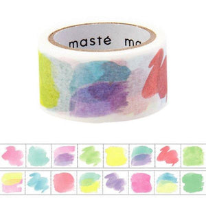 Masking Tape Writable With Water-based