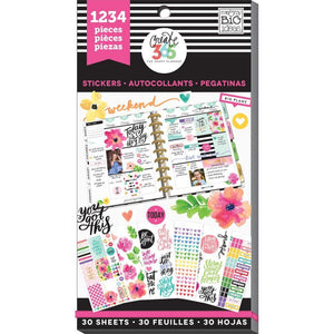 Happy Planner Sticker Pack Today Is The Day 1234