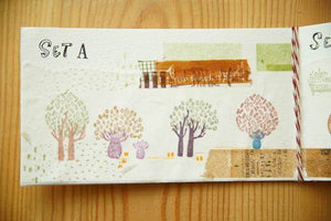 Secret Forest Series Rubber Stamp Set A