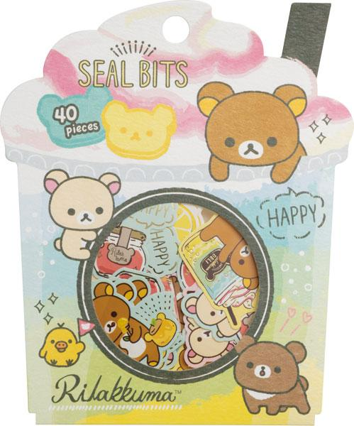 Happy Rilakkuma Flake Sticker
