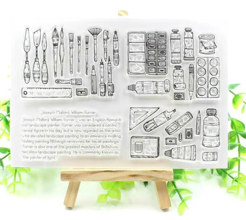 Clear Stamp Moodtape Watercolour