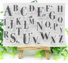 Clear Stamp Moodtape Alphabet