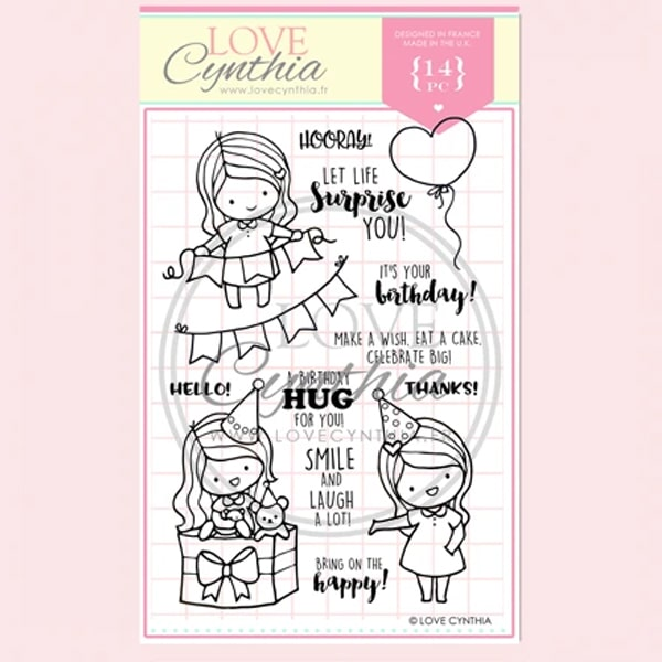 Love Cynthia Clear Stamp - Let Life Surprise You