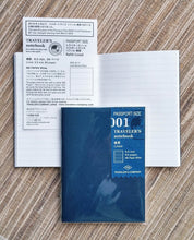 Passport Size Refill 001 - Lined