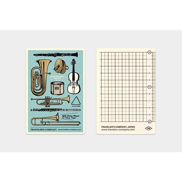Traveler's Notebook Plastic Sheet 2019 - Passport Size