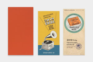 Travelers Notebook Refill 2019 Monthly - Regular