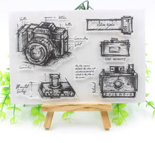 Clear Stamp Moodtape Camera