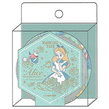 Sunstar Disney Alice in Wonderland Masking Tape Floral
