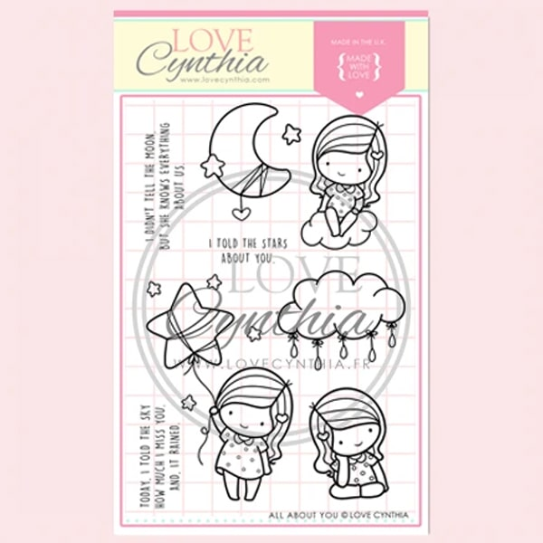 Love Cynthia Clear Stamp - All About You