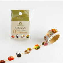 Masking Tape Natural Season Autumn Sweets