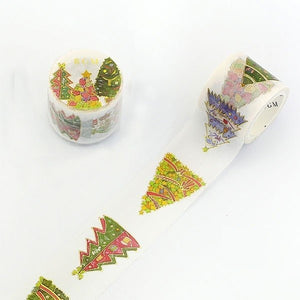 BGM Masking Tape - Christmas Tree