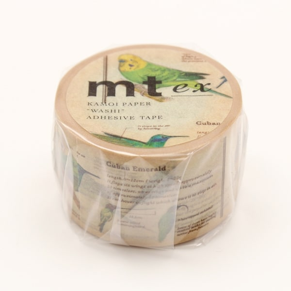 MT Masking Tape Picture Book/Bird