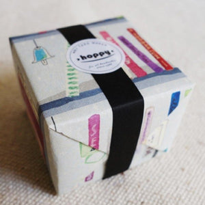 Hoppy Mini Box Tape - Bookshelf