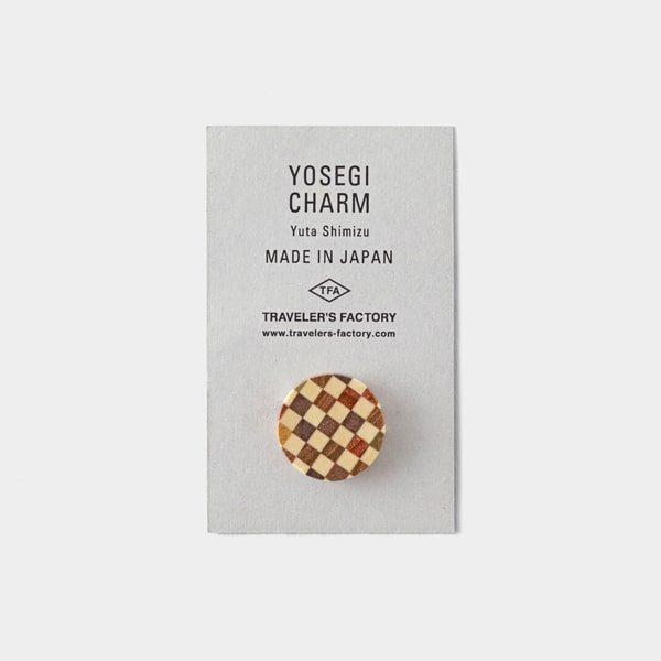 Traveler's Notebook Yosegi Limited Charm Brown