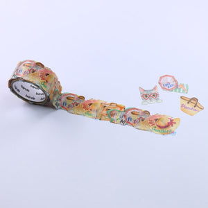 Bande Washi Roll Sticker Summer Vacation