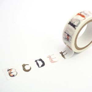 UP's Friends Masking Tape - Cat Letter