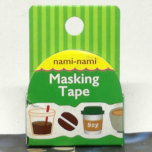 Nami Nami Masking Tape Coffee