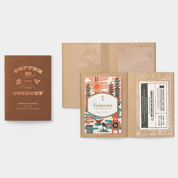 Travelers Notebook Starbucks Roastery Card File Passport Size