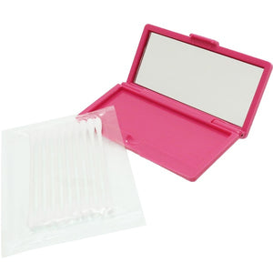 Cotton Swab Case Snoopy Pink