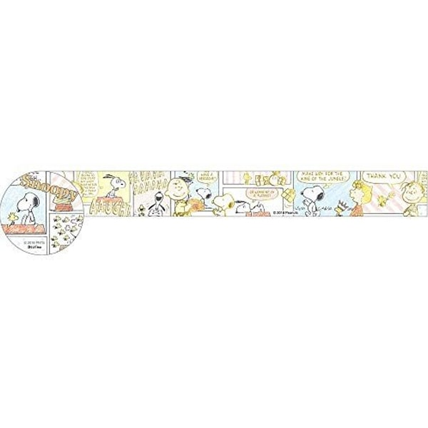Peanuts Snoopy Masking Tape Comic Crayon