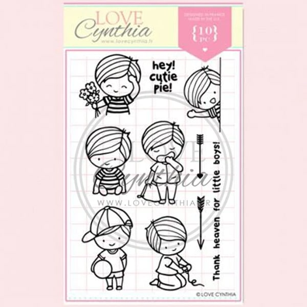 Love Cynthia Clear Stamp - Hey Cutiepie