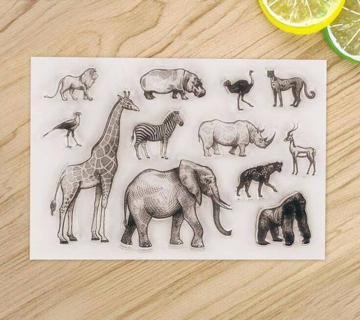 Clear Stamp Moodtape Animal