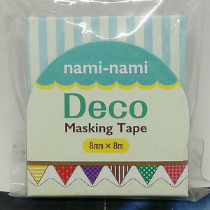 Nami Nami Masking Tape Triangle Flag