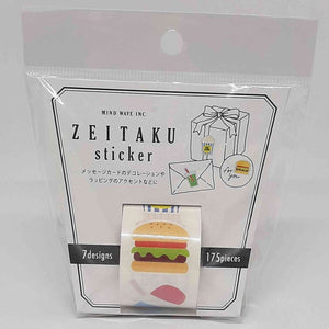 Mindwave Zeitaku Sticker Food