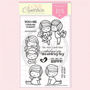 Love Cynthia Clear Stamp - Forever Please
