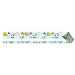 Art Print Japan Masking Tape - Foxy Illustrations Think