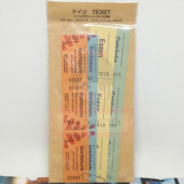Vintage Germany Ticket C