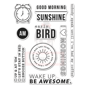 Hero Arts Clear Stamp - Kelly's Good Morning