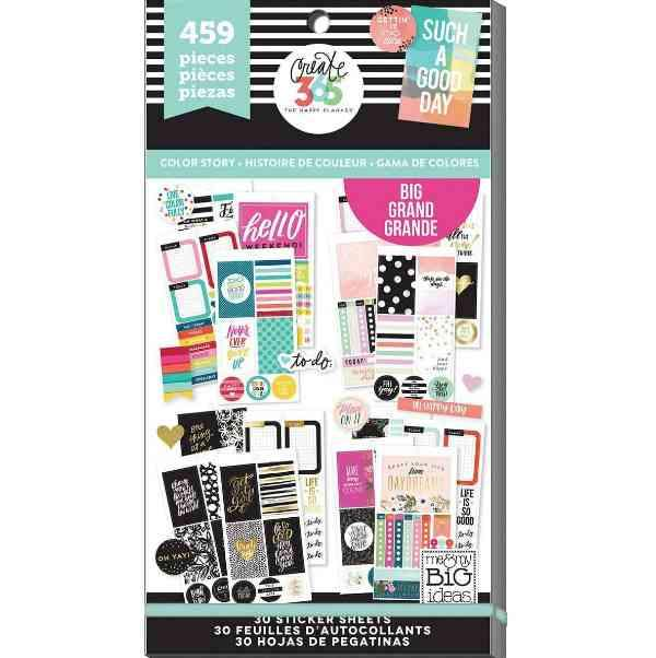 Happy Planner Sticker Pack Color Story 459