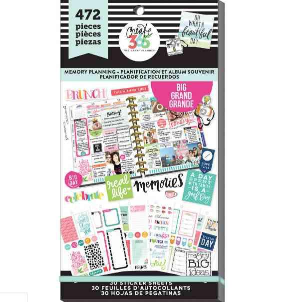 Happy Planner Sticker Pack Memory Planning 472