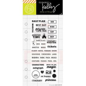 Hero Arts Clear Stamp - Kelly's Adventure Time Planner