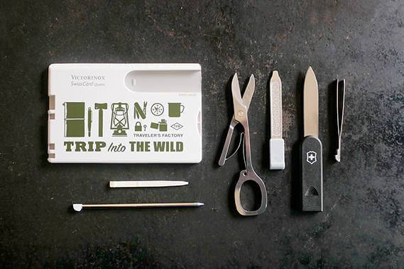 Victorinox X Traveler's Factory Collaboration Swisscard