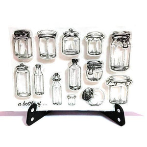 Clear Stamp Moodtape Jars