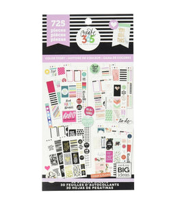 Happy Planner Sticker Pack Color Story 725
