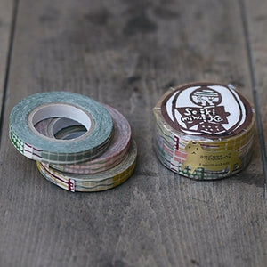 Classiky Masking Tape Striped Polka Dot 8mm