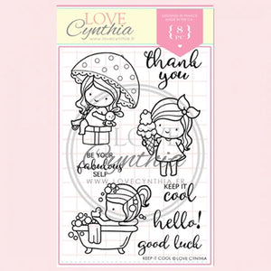 Love Cynthia Clear Stamp - Keep It Cool