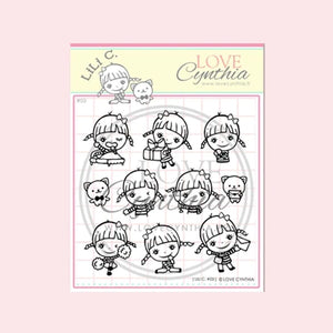 Love Cynthia Clear Stamp - Lili C Series 03